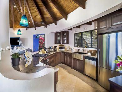 Partial Ocean Views at this 4 Bedroom BVI Vacation Rental