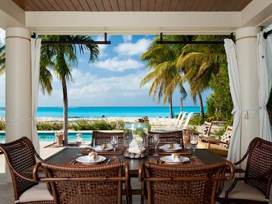 Exclusive Beachfront Grace Bay Villa rental