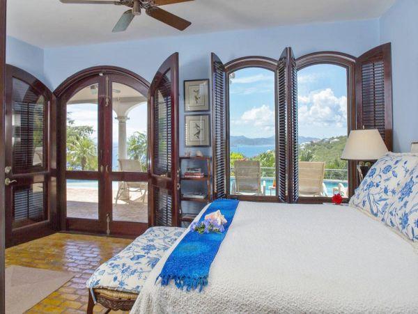 Four Bedroom Luxury St. John Vacation Villa Sleeps 10