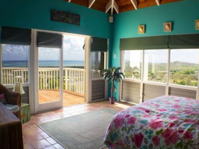 Full Caribbean Sea Views from this 3 Bedroom Vacation Rental