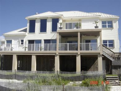Full Gulf View at This Four Bedroom Vacation Rental