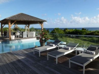 A stunning Villa with World Class Water Views in Guadeloupe