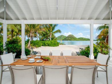Ultimate Vacation Beachfront Estate on Antigua Sleeps 14