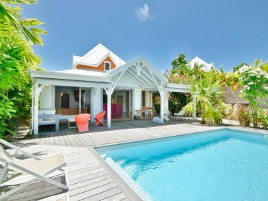 Three Bedroom Charming Villa in Guadeloupe with Private Pool