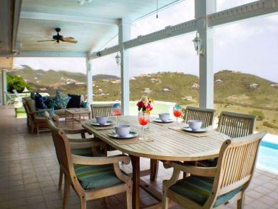 St Croix Four Bedroom Villa Overlooks the Sea