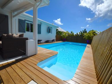 Just Steps to the Beach 3 Bedroom Guadeloupe Villa Sleeps 6