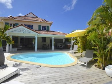 Guadeloupe Vacation Home Sleeps Ten Guests.