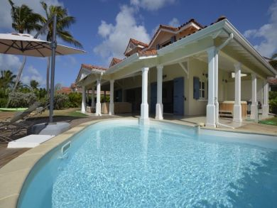 Guadeloupe Vacation Home Sleeps Twelve Guests.