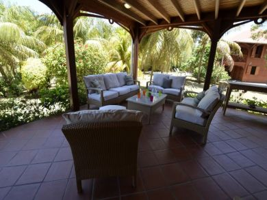 Guadeloupe Vacation Home Rental Sleeps Twelve Guests.
