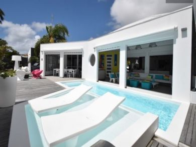 Guadeloupe Vacation Home Rental Sleeps Ten Guests.