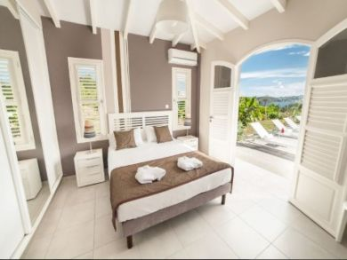 Guadeloupe Luxury Vacation Home Rental Home Four Bedrooms