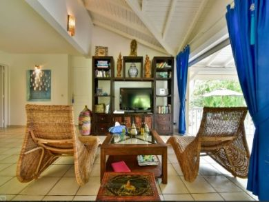 Guadeloupe Luxury Vacation Home Rental Sleeps Eight Guests