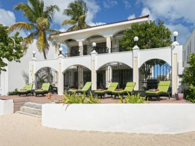 Six Bedroom Luxury Villa Simpson Bay On Beach Sea Views