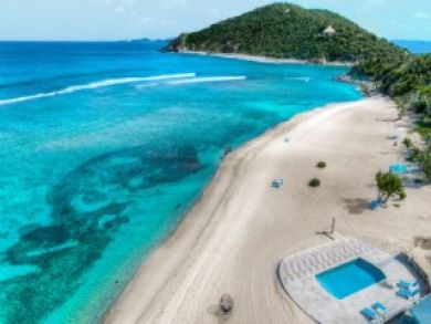 Scrub Island British Virgin Island One Bedroom Luxury Retrea