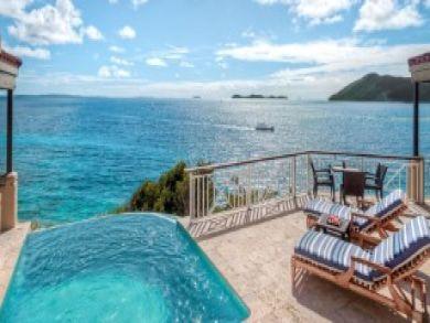 Scrub Island British Virgin Island One Bedroom Luxury Retrea