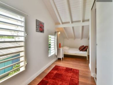Guadeloupe Vacation Home Sleeps Seven Guests.