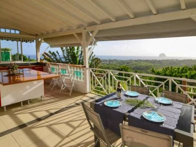 Martinique Two Bedroom Vacation Home Sleeps 4 Guests