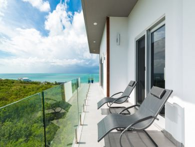 Turk and Caicos Luxury Three Bedroom Ocean View Home