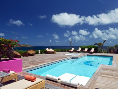 St Barts  Vacation Villa Luxury throughout Views of the Sea