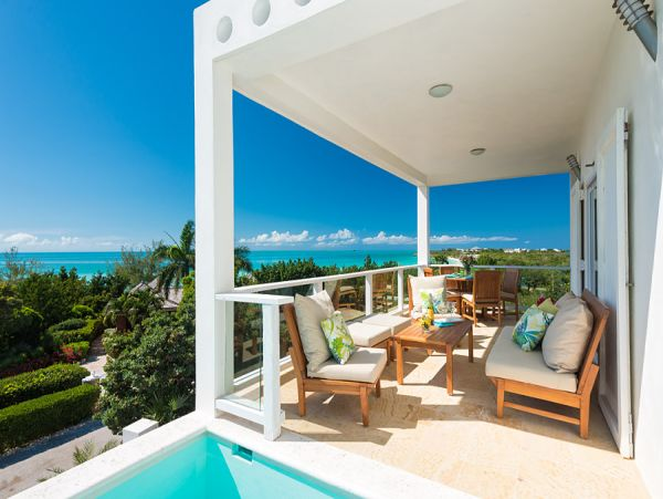 Short Walk to Beach Turks and Caicos Vacation Home w/Pool