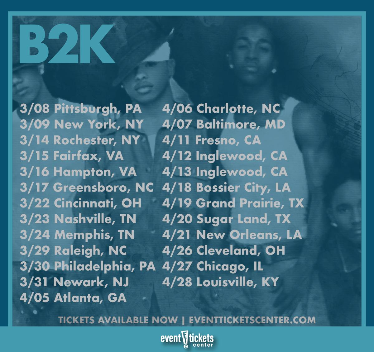 b2k millennium tour