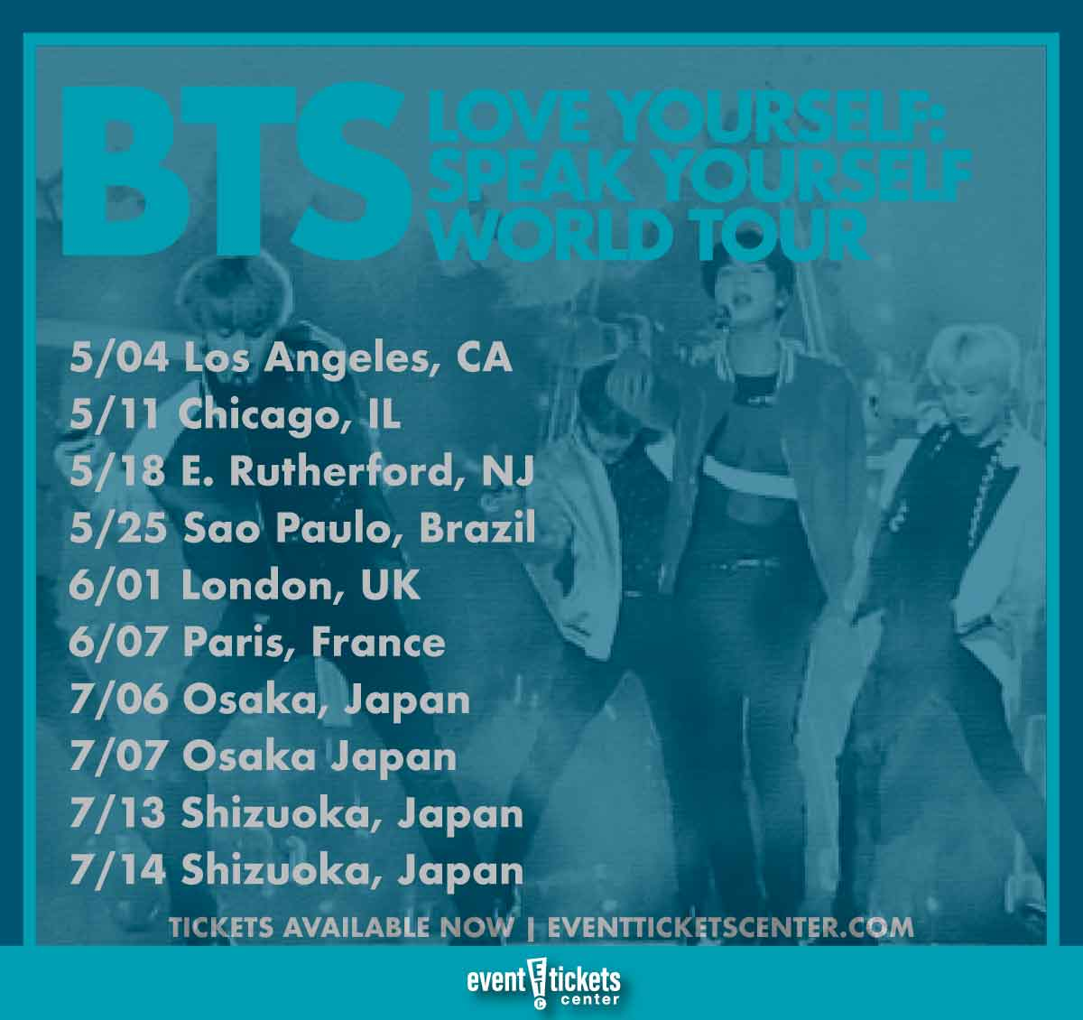 Bts Announce 2019 World Tour