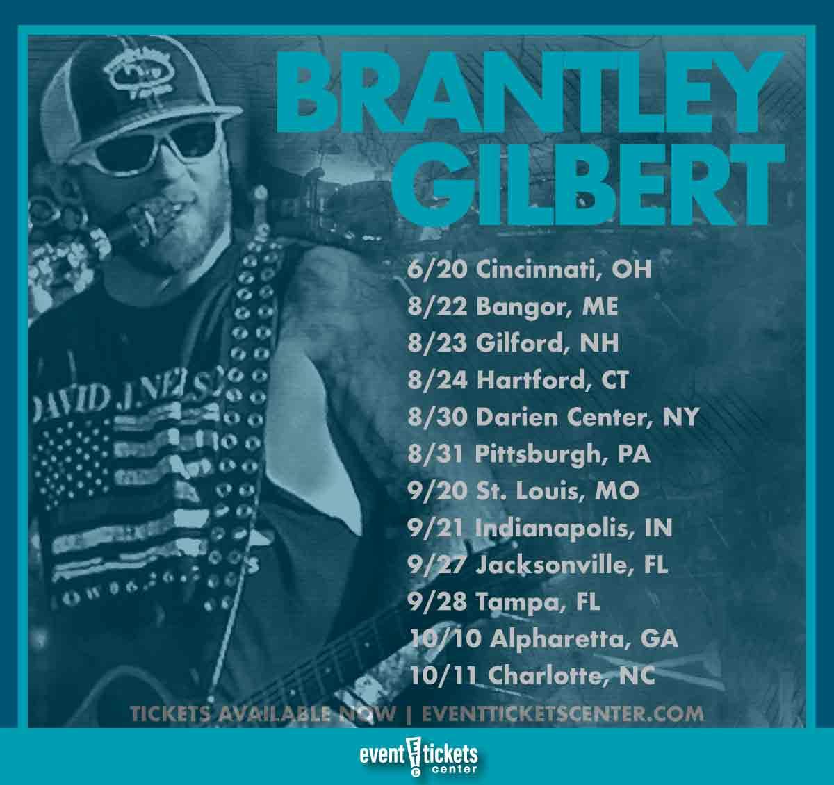 brantley gilberttour dates