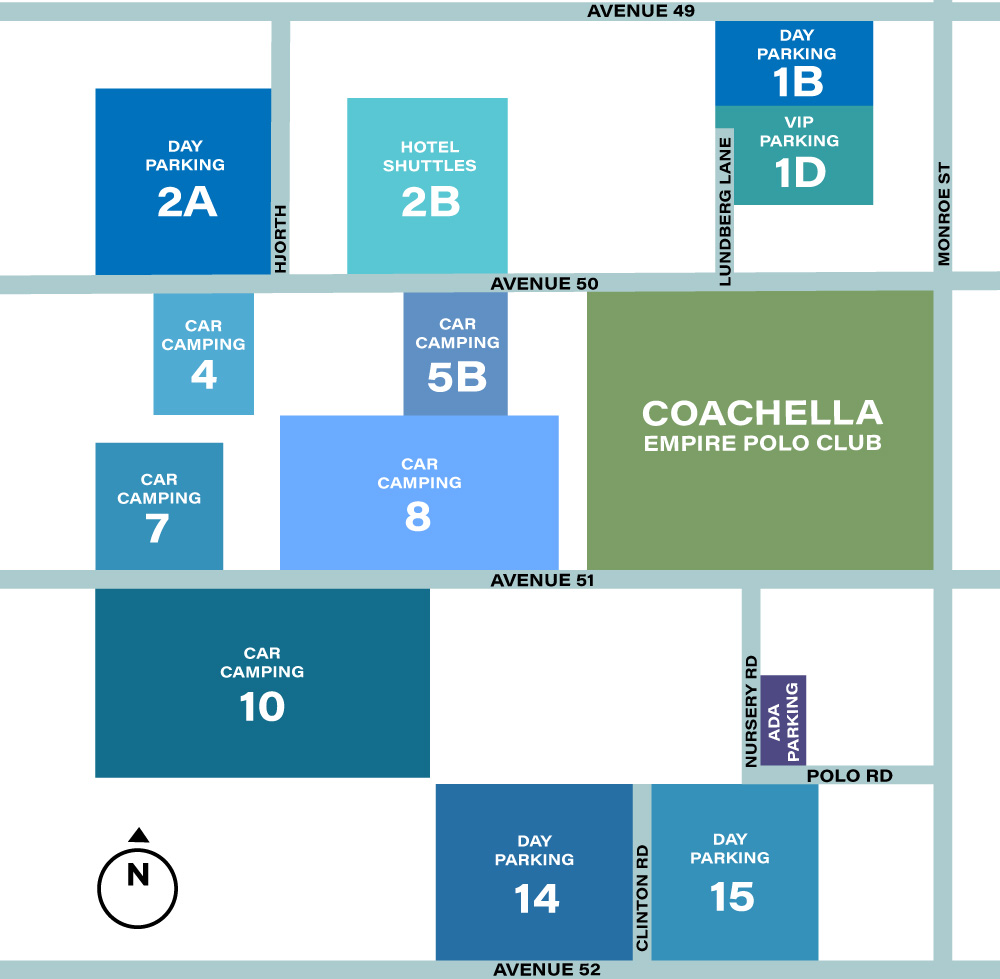 Coachella Food, Seating, And Parking Guide