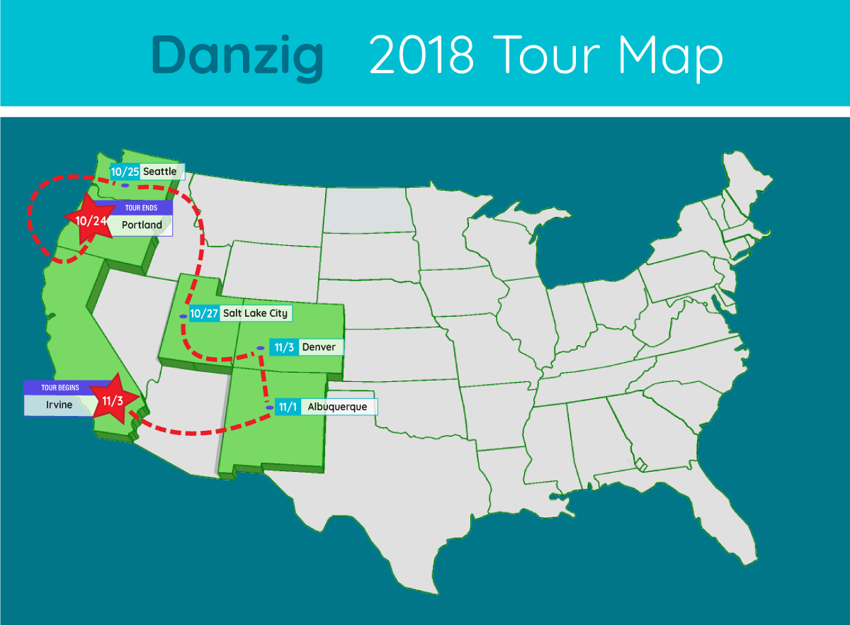 danzig tour map