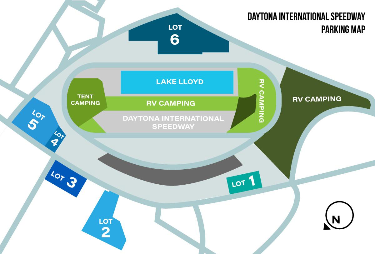 Daytona International Speedway Food, Seating, and Parking Guide