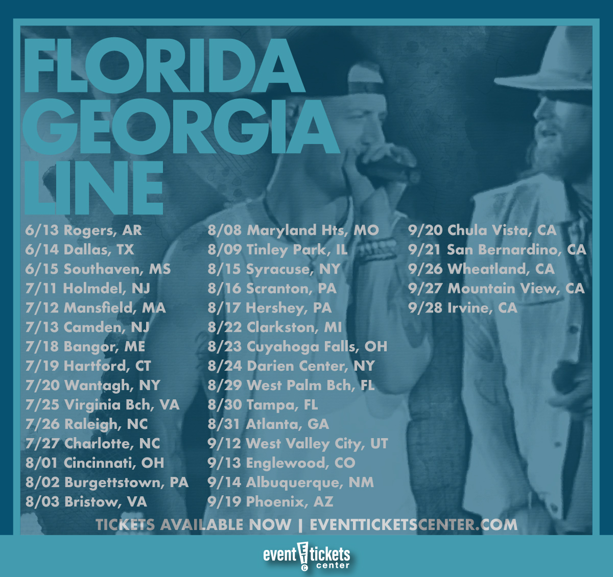 florida georgia line tour dates