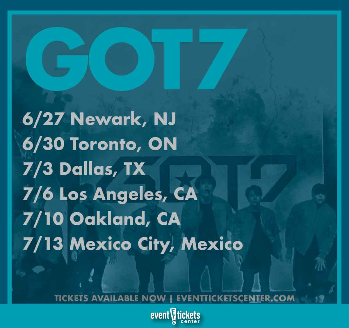 Got7 dallas 2019