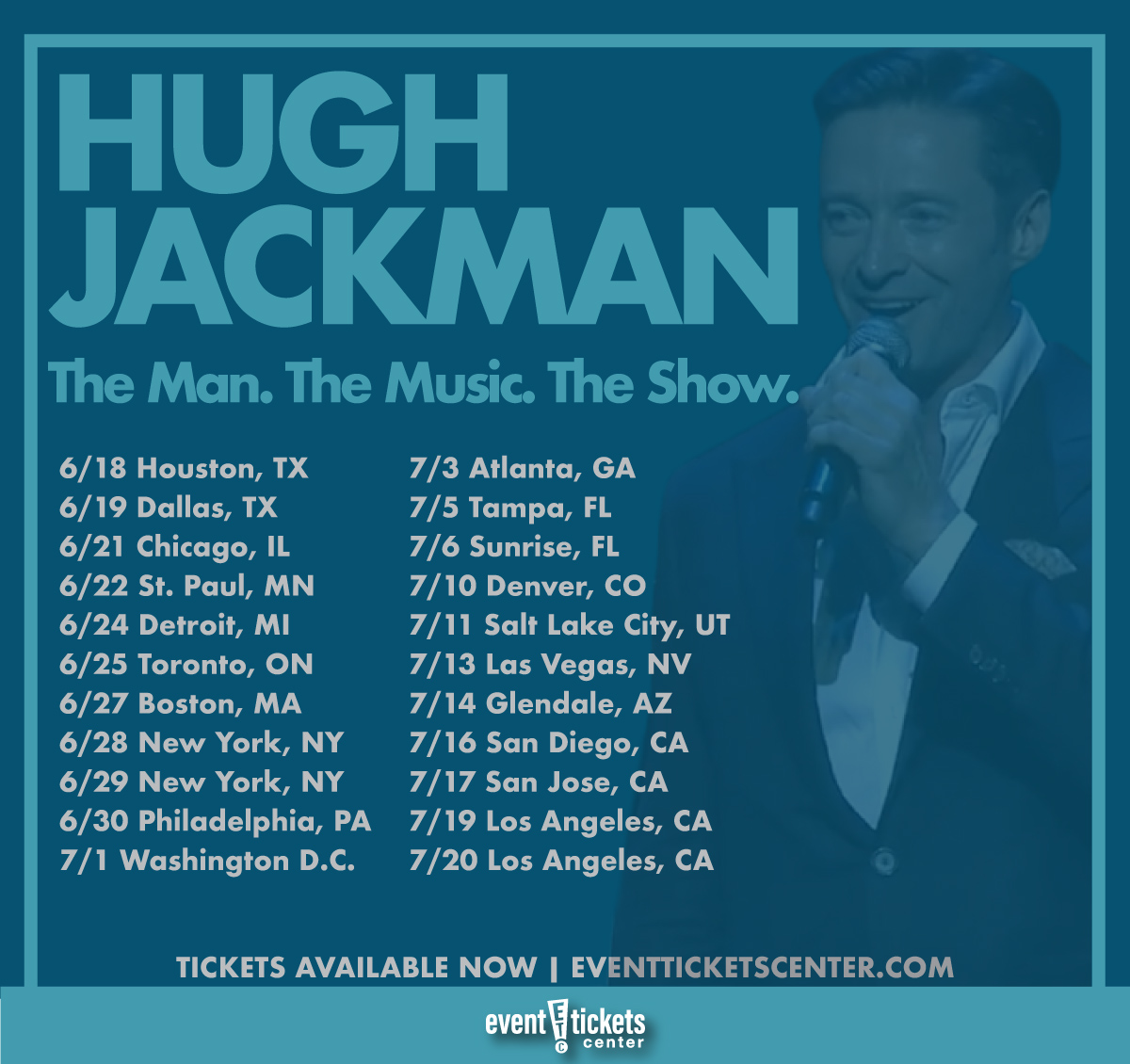 Hugh Jackman Prepares for Arena World Tour