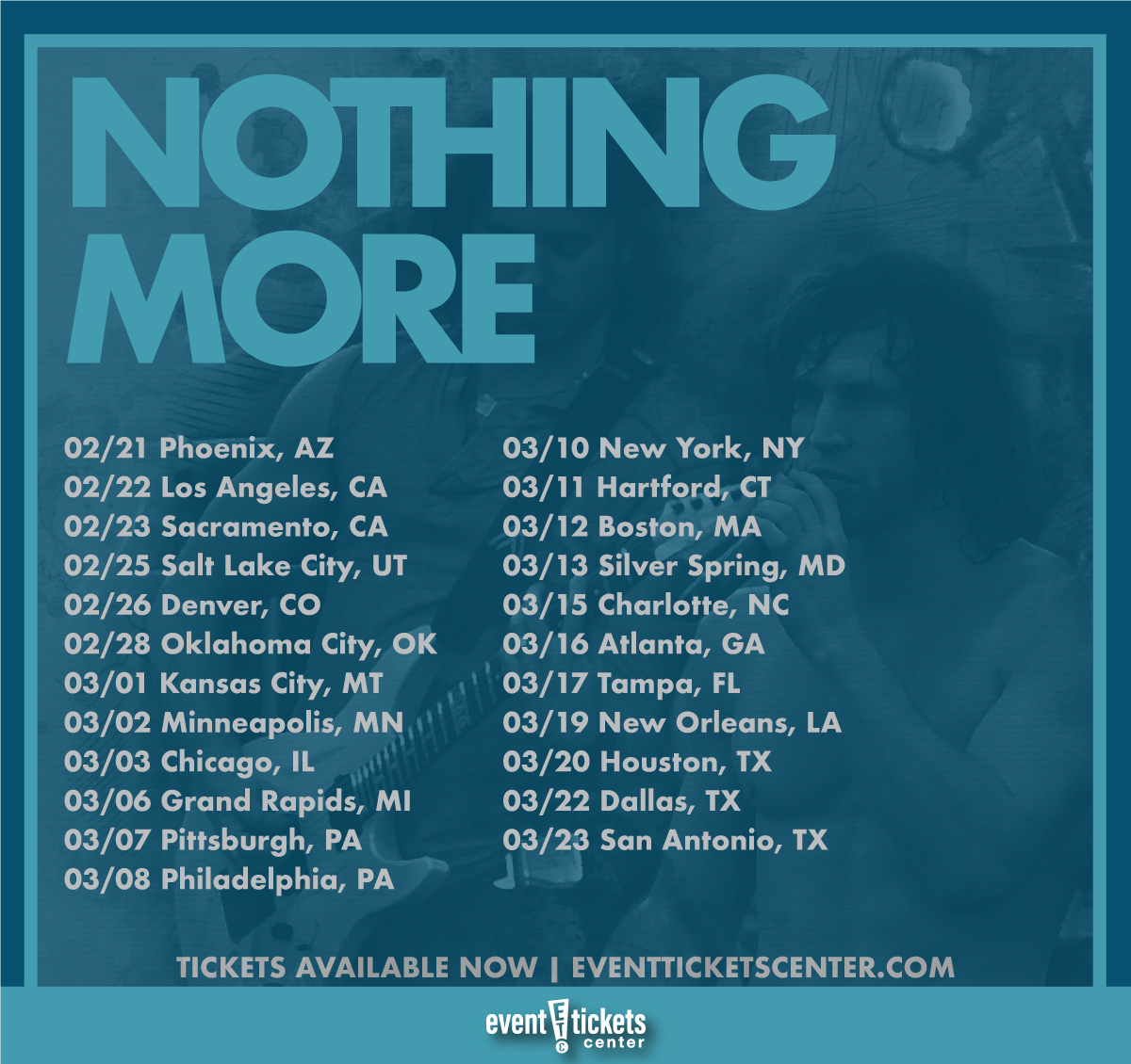 nothing more tour map