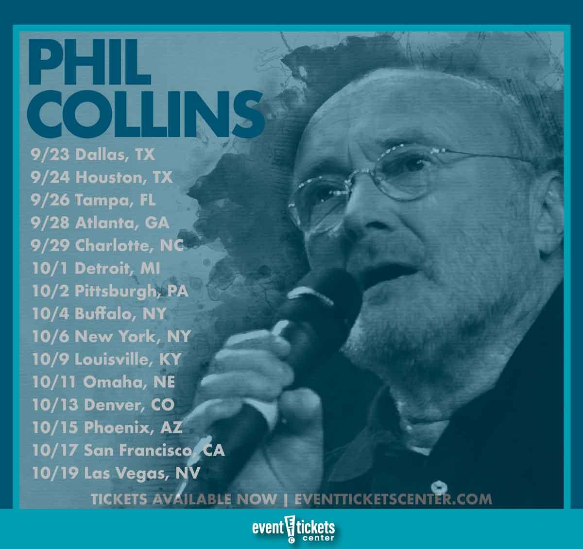 phil collins tour dates
