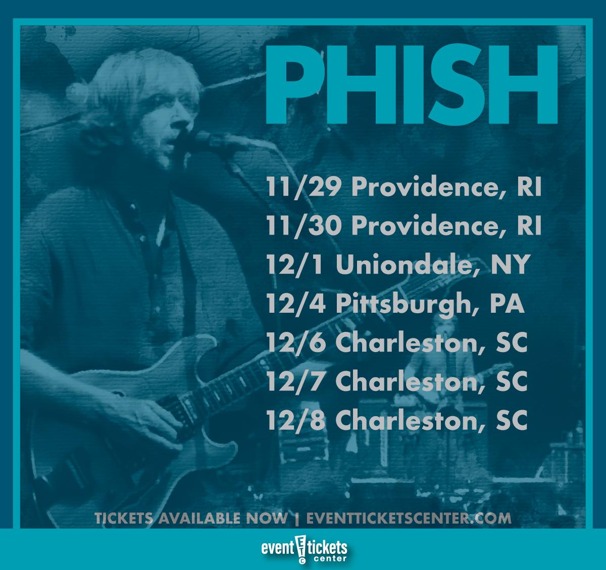 phish tour dates