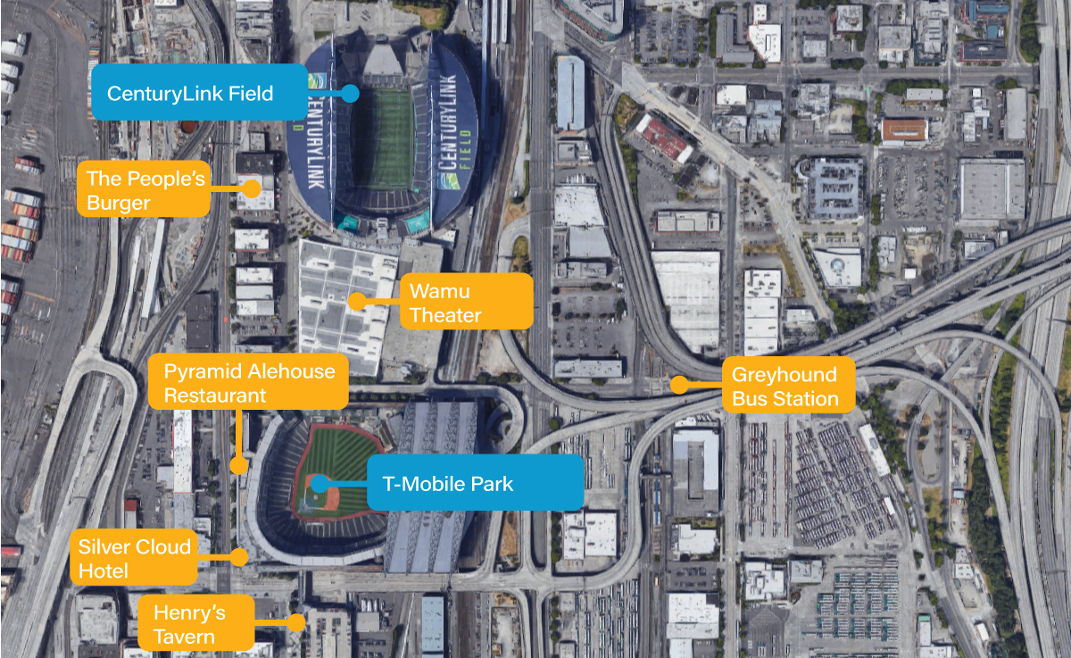 t-mobile park venue guide