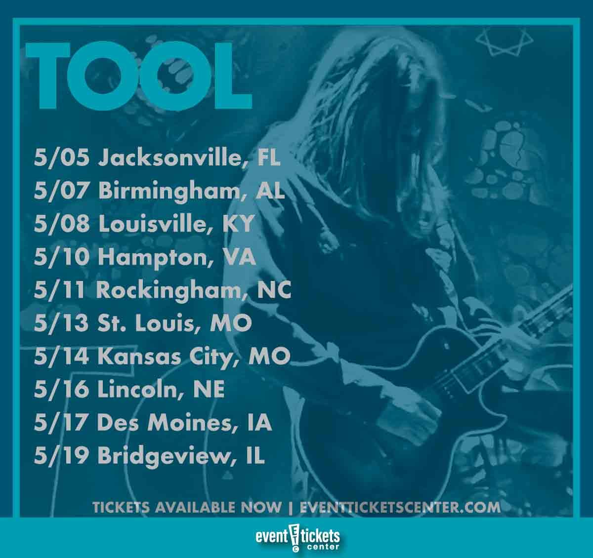 tool tour dates
