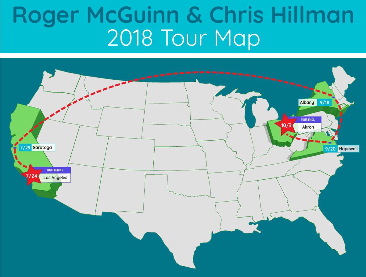 roger mcguinn chris hillman tour map