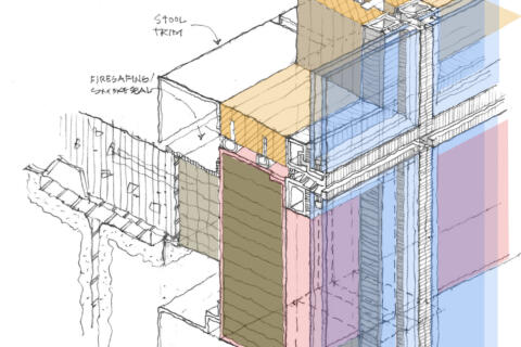 Fire Safety and Code Challenges for Mass Timber in Curtain Wall Systems featured image