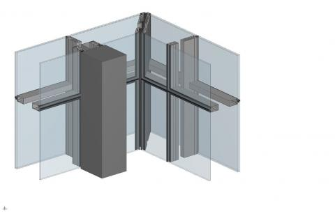 Performance of Compact, Closed Cavity, Double-skin Curtain Wall featured image