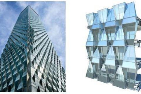 Origami-Inspired Facade Design featured image