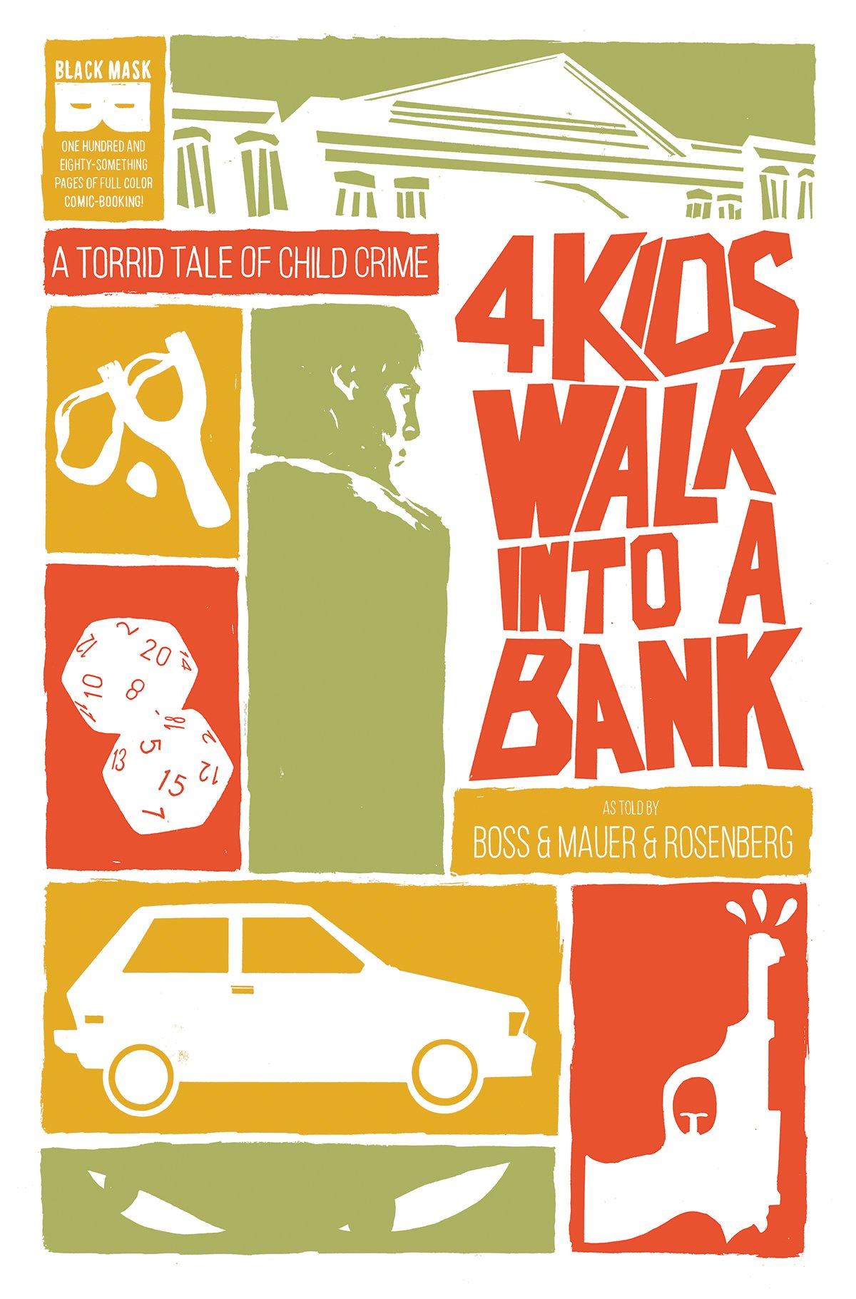 4 Kids Walk Into a Bank TPB