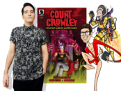 David Dastmalchian and Count Crowley!