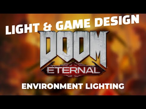 Light And Game Design How Doom Eternal Brings Hell To
