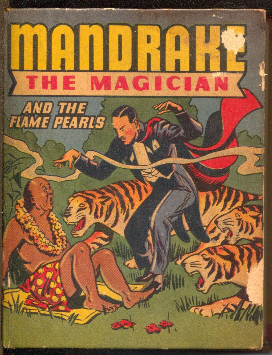 Mandrake the Magician and the Flame Pearls