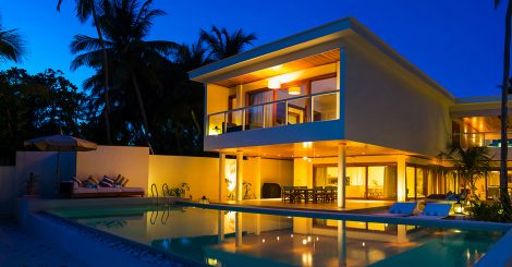 Maldives, Amilla – 4 bedroom villa residence 1