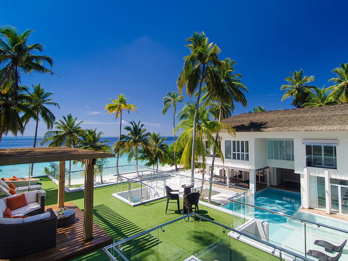 Maldives Amilla Villa Estate Luxury Villas Amp Vacation