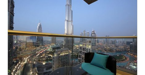 Startling views of dancing fountain , Burj Khalifa , Opera in The Lofts DownTown
