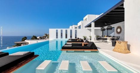 Villa Psarou Beach